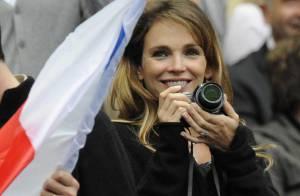 PHOTOS : Claire Keim très enceinte... applaudit son chéri !