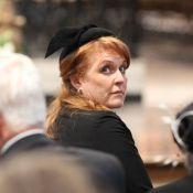 Sarah Ferguson se fait remarquer aux obsèques de son amie Margaret Thatcher...