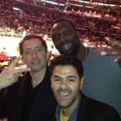 Jamel Debbouze, Omar Sy, Gad Elmaleh et Johnny Hallyday s'éclatent à Los Angeles