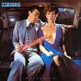 Lovedrive  de Scorpions (1979), une pochette signée Storm Thorgerson, grand collaborateur de Pink Floyd décédé en avril 2013