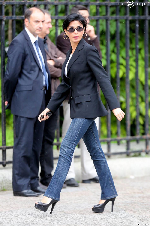 Rachida Dati à Paris le 21 juin 2012.