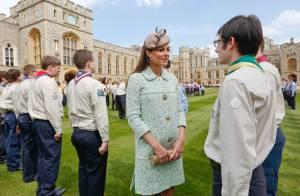 Kate Middleton : Baby bump en vue, sublimé à Windsor pour les Queen's Scouts