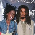 Lauryn Hill et Rohan Marley à New York le 2 mai 1999.