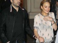 Lindsay Lohan : En forme et avec un mystérieux inconnu avant d'entrer en cure