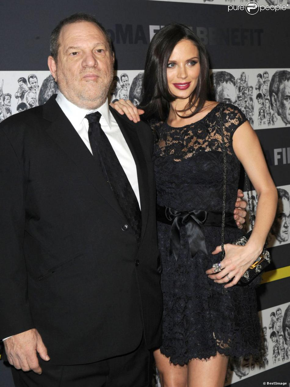 Harvey Weinstein et Georgina Chapman lors de la soirée Museum of Modern Art film benefit à New York le 3 décembre 2012