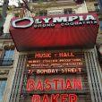 Bastian Baker était en concert à l'Olympia à Paris, le 24 avril 2013.