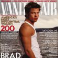 Brad Pitt dans le Vanity Fair de novembre 1998.