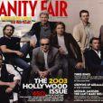 Brad Pitt et d'autres stars hollywoodiennes en couverture de Vanity Fair en avril 2003.