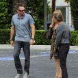 Heidi Klum et son  boyfriend  Martin Kirsten sont allés déjeuner au restaurant Cecconi à Beverly Hills. Le 30 avril 2013.