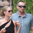 Heidi Klum et son compagnon Martin Kirsten sont allés faire du shopping à Beverly Hills. Le 30 avril 2013.