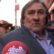 Gérard Depardieu tourne The June Project : Son hilarant ''craquage'' face caméra
