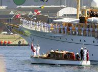 Margrethe II et Henrik de Danemark : Embarquement immédiat à bord du Dannebrog