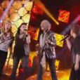 L'équipe Bertignac monte sur scène, le 4 mai 2013 sur TF1 dans The Voice 2.