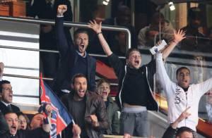 David Beckham et ses fils : Supporters complices et passionnés pour le PSG