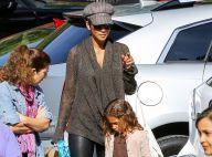 Halle Berry : Câline avec Nahla avant une séance shopping pour son futur bébé