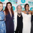 Ali Wentworth, Debra Messing, Glenn Close, Mariska Hargitay à la soirée de charité organisée par la  Joyful Heart Foundation  à New York, le 9 mai 2013.