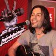 Nuno Resende - Showcase The Voice 2 au Furet du Nord organisé par la radio Mona fm à Lille le 29 avril 2013.