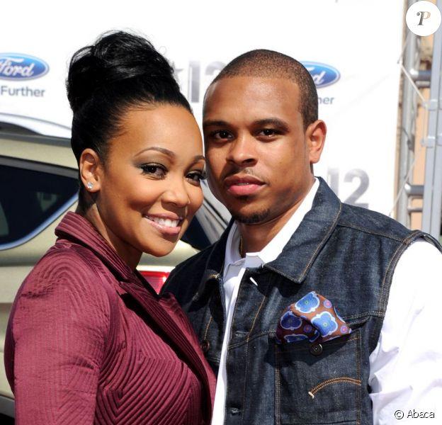 Monica et Shannon Brown très complices en juillet 2012 à Los Angeles