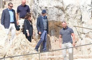 Cannes 2013 : Steven Spielberg, ''le président normal'', arrive en famille