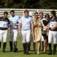 Le prince Harry lors du tournoi Sentebale Royal Salute Polo Cup à Greenwich, Connecticut, le 15 mai 2013 lors de sa visite officielle d'une semaine aux Etats-Unis.