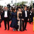 Enrique Gonzalez Macho, Ilda Santiago, Ludivine Sagnier, Thomas Vinterberg, Zhang Ziyi, membres du jury pour la montée des marches du film The Bling Ring pour l'ouverture d'Un Certain Regard au Festival du film de Cannes, le 16 mai 2013.