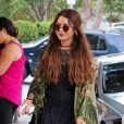 Exclusif - La jolie Vanessa Hudgens se rend chez le coiffeur à West Hollywood, le 16 mai 2013.