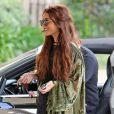 Exclusif - Vanessa Hudgens se rend chez le coiffeur à West Hollywood, le 16 mai 2013.