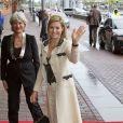 La reine Maxima des Pays-Bas s'exprimait le 15 mai 2013 sur le microdéveloppement dans le cadre du congrès annuel de la CGAP, à Amsterdam.