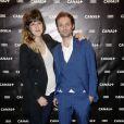 Daphné Bürki et Augustin Trapenard lors de la Canal + party durant le 66e Festival de Cannes le 17 mai 2013