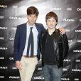 Vincent Glad et Chris Esquerre lors de la Canal + party durant le 66e Festival de Cannes le 17 mai 2013