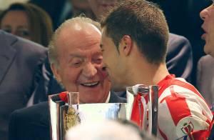 Juan Carlos Ier et Sofia d'Espagne : Ravis du duel Real-Atletico à San Bernabeu