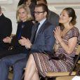 La princesse Victoria de Suède, accompagnée du prince Daniel, prenait part le 23 mai 2013 à une réunion de l'Institut suédois à Rome, à l'Institut culturel italien à Stockholm.