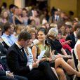 La princesse Victoria de Suède célébrait le 22 mai 2013 les 100 ans du lycée Enskilda, son ancienne école.