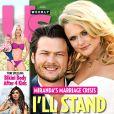Tory Spelling en une du magazine américain Us Weekly, datée d'avril 2013.