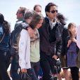 Exclusif - Adrien Brody et sa compagne, le mannequin Lara Lieto se promenant sur la Croisette lors du 66e Festival du Film de Cannes le 19 mai 2013