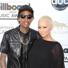 Wiz Khalifa et Amber Rose aux Billboard Music Awards à Las Vegas, le 19 mai 2013.
