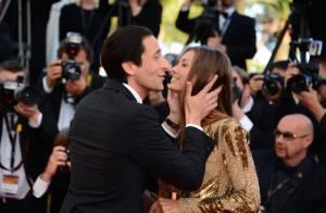 Cannes 2013 : Adrien Brody fou amoureux face à la divine Jessica Chastain