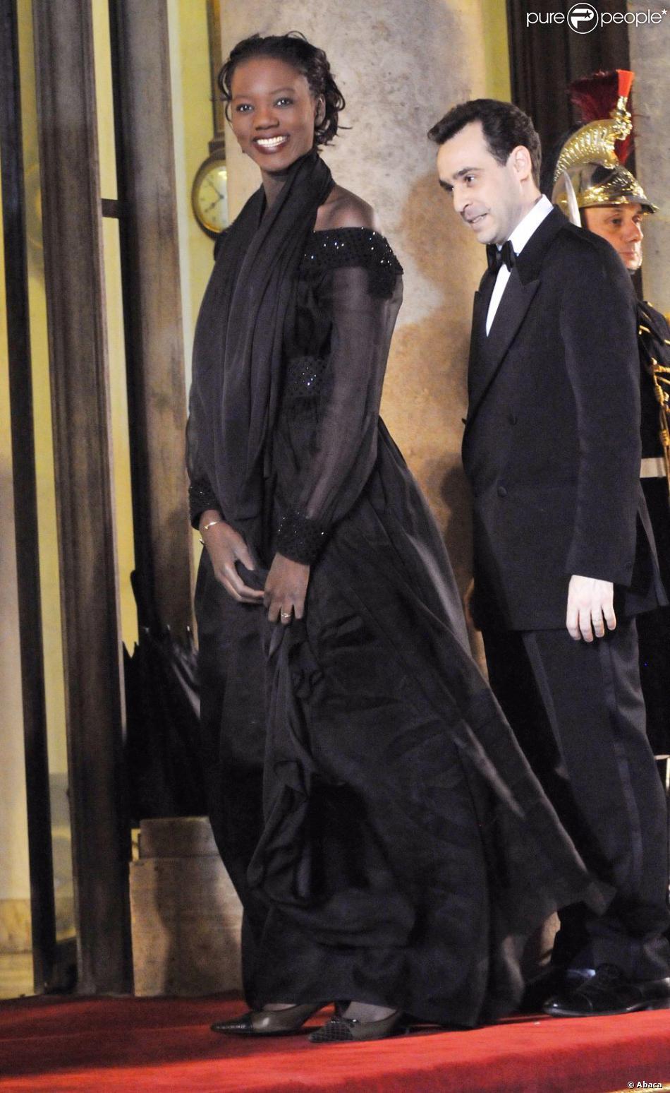 Rama yade et son mari joseph zimet paris le 10 mars 2008 - Jeanne mas et son mari ...