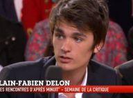 Alain-Fabien Delon parle de son père : ''Il est très fier, et ça va mieux''