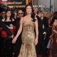 Catherine Zeta Jones à la 85e cérémonie des Oscars à Hollywood, le 24 février 2013.