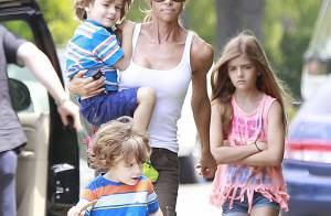 Denise Richards, malgré la fatigue, ne lâche pas son rôle intensif de maman