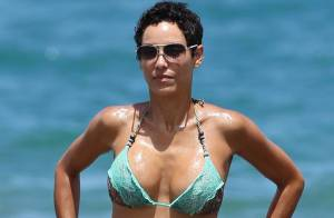 Nicole Murphy : L'ex-femme d'Eddie Murphy expose sa jolie plastique en bikini