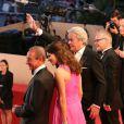 Bertrand Delanoe, Aurelie Filippetti, Alain Delon, Gilles Jacob et Thierry Fremaux - Hommage a Alain Delon lors du 66eme festival du film de Cannes. Le 25 mai 2013  Tribute to Alain Delon during the 66th Cannes Film Festival. on may 25th 201325/05/2013 - Cannes