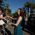 Bérénice Bejo lors de la montée des marches de la cérémonie de clôture lors du Festival de Cannes le 26 mai 2013