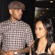 Chris Brown et Karrueche Tran à Los Angeles, le 29 août 2012.