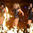 Kelly Rowland, Beyoncé Michelle Williams lors du Super Bowl XLVII à la Nouvelle-Orléans, le 3 février 2013.