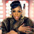 Kelly Rowland dans le clip de Kisses Down Low, extrait de son quatrième album Talk A Good Game disponible dès le 18 juin.