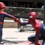 Andrew Garfield : Complice et adorable avec son mini-double Spider-Man