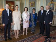 Princesse Victoria : Élégante au côté de Daniel pour le président indonésien