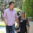 Exclusif - Fergie, enceinte, et son mari Josh Duhamel à la recherche d'une maison à Pacific Palisades, le 30 mai 2013.